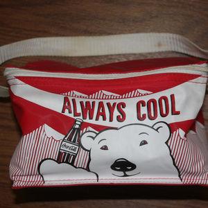 COCA COLA COOLER BAG Polar Bear